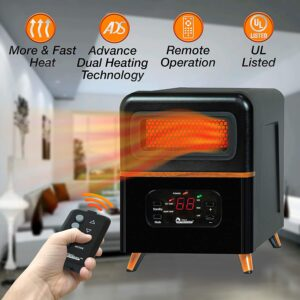 Dr Infrared Heater Hybrid Space Heater