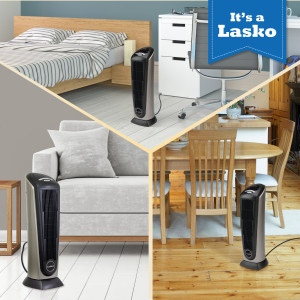 ceramic tower heater with remote control